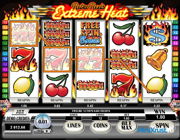 Казино jet casino и автомат Extreme Heat